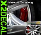 Maserati Brake decal sticker 75mm for the front caliper x2