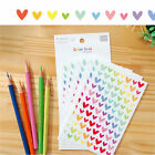 Colorful Star Love Shape Stickers For School Children Teacher Reward DIY EW