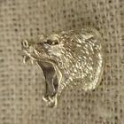 GRIZZLY Head Finger Guard BOLSTER BRONZE CUSTOM KNIFE MAKING HAND CASTING METAL