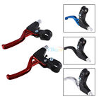 1 Pair Lightweight Alloy Bicycle Fixed Gear Bike Hand Brake Handle Lever New