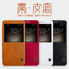For HUAWEI Mate 9 Nillkin  Smart Cover View Window PU Leather Flip Slim PC Case