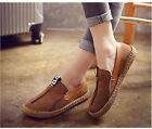Fashion Women Comfy Flat Loafers Round Toe Diving Leisure Shoes  Ballet Flats