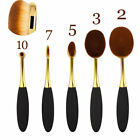 10Pcs Professional Makeup Brushes Set Oval Cream Puff Toothbrush Brush Rose Gold <br/> 7/10/12Pcs Unicorn Mermaid Make up Brushes,US Delivery