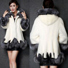 Women Thicken Faux Fox Fur Coat Winter Warm Jacket Long Parka Outwear Outcoat