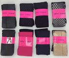 Betsey Johnson Fashion Tights 2 Pairs , New With Tags, SM-XL Free Shipping NWT