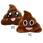 Poo Shape Cushion Smiley Big Eyes Poop Pillow Emoji Stuffed Toy Gift Home Decor
