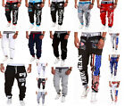 New Men's Casual Sweatpants Jogger Dance Sportwear Baggy Harem Slacks Trouser