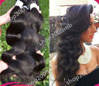 3 Bundles/150g total Brazilian Virgin Body Wave Weave Weft 100% Human Hair Wavy