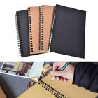 Reeves Retro Spiral Bound Coil Sketch Book Blank Notebook Kraft Sketching Paper!
