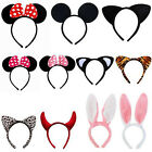 Boy Girl Minnie Mouse Ears Bow Cute Headband Hen Night Mickey Party Hairpin Hair