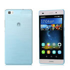 Pure Color New Ultra Thin TPU Mobile Phone Protective Cover For HUAWEI P8lite 5""