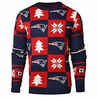 Forever Collectibles NFL Men's New England Patriots 2016 Patches Ugly Sweater