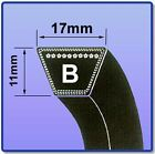 V BELT SIZES B56 - B85 17MM X 11MM