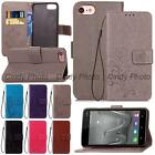 For Huawei Honor V8 3D Emboss Windbell PU Leather Stand Flip Case Cover Luxury