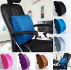 Memory Foam Office Home Car Seat Chair Lumbar Back Support Cushion Pillow Cover