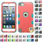 For Apple iPod Touch 5th 6th Gen Hybrid TUFF IMPACT Phone Case Hard Rugged Cover $7.99 USD