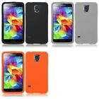 For Samsung Galaxy S5 Silicone Skin Soft Rubber Case Phone Cover