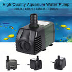 450-1500L/H 4-Type Submersible Pump Aquarium Fish Tank Fountain Water Hydroponic