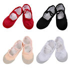 Kids Girls Ballet Dance Shoes Leather Sole Canvas Slippers Socks Leggings 2-12Y