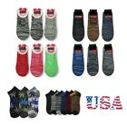 6-12 Pack Loafer Socks Marijuana Design Hemp Leaf Casual Sock Boat Liner Unisex