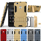 Slim Hybrid Hard Armor Stand Case Shockproof Cover For Huawei Ascend P9 Lite