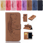 Hot Leather Flip Credit Card Slot Stand Wallet Cover Case For Samsung Galaxy