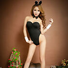 Bunny Girl Costume Fancy Dress Hen Party Lingerie Outfit 3 Colors SPUS tb