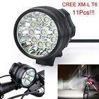 30000LM 12 x CREE XM-L T6 LED 6 x 18650 Bicycle Cycling Light Waterproof Lamp