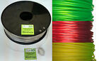 PET Transparent 3D Printer Filament, Glass Clear in 1.75mm 3mm, PETG NEW Colours