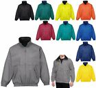 MEN'S UNLINED, WATER RESISTANT, ZIP UP, WINDBREAKER, WIND JACKET, POCKETS, S-6XL