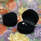 New Cute Heart Style Jewelry Display Box Chirstmas Gifts Ring Box 3 Colors U35