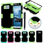 Hybrid Shockproof Hard Case Back Cover For iPhone 5/c/6/s/Plus iPod Samsung Note