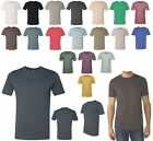 MEN'S CREWNECK T-SHIRT, POLY/COTTON BLEND, SHORT SLEEVE, LIGHTWEIGHT, S-L XL 2XL