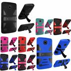 2 Layer Dynamic Hybrid Protective Stand Case Cover For Huawei Union Y538 Phone