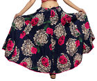 Carrel Imported Polly Cotton Fabric Floral Printed Long Skirt For Women. 3489
