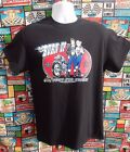 Mens Burn Up Rockers Tee Shirt, T.Shirt, Vince Ray, Cafe Racer, Rockabilly, Bike