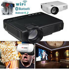 3500LM HD LED Wifi Projector Reality 3D LCD Smart Home Theater TV HDMI 1080P LOT