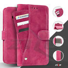 For LG G Stylo 2 LS775 ZIZO Pocket Wallet Slide Out Case Pouch With Card Slots