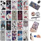 For Huawei Honor 5X GR5 Mate 7 Mini 3D Emboss Finger Ring Stand Case Cover Cat