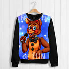 Game Unisex Sweater Coat Thicken Hoodie Five Nights at Freddy's Puliover Cos#qb0