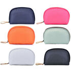 Portable Half Moon Cosmetic Bag Makeup Beauty Bag Travel Handy Organizer Pouch