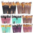 20PCS Foundation Eyeshadow Eyeliner Powder Make up Brushes Set Kabuki Tool New