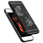 Black Fish Case Sets Silicone Back Cover Shell Case Protective For Iphone 5/6/7