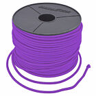 10mm ELASTIC BUNGEE ROPE SHOCK CORD TIE DOWN VIOLET, ROOF RACKS TRAILERS BOATS
