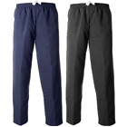 Mens Paramount Zip Pockets Lined Open Hem Trouser Elasticated Waist Rugby Pants