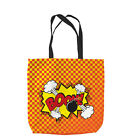 COMIC PHRASE DESIGN TOTE BAG SHOPPING GREAT GIFT IDEA L&S PRINTS