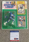 BARRY SANDERS Signed 1990 Starting Lineup FIGURE Detroit LIONS NFL PSA/DNA COA