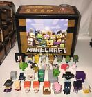 NEW Minecraft Mini-Figure Chest Series 2 (Red) - Alex Steve Horse Zombies & More