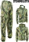 Mens StormKloth Gods Camo Fleece Tracksuit | Hoodie | Zipper | Joggers
