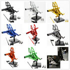 FXCNC Front Rearset Footrest Footpeg Pedal Adjust For Yamaha YZF R15 2012-2015